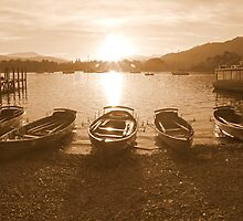 Waterhead Sunset by mikebov
