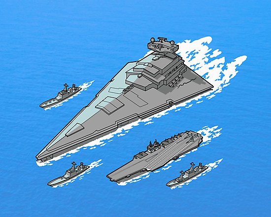 Upgrading the 6th fleet. by J.C. Maziu