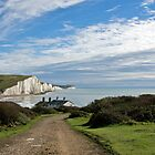 Seven Sisters and Coastguard Cottages by Sue Robinson