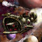 Starship Cruiser by MBJonly