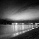 The Strand at Night by Dieter Tracey
