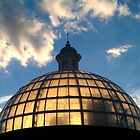 The Sun and The Thames Tunnel Dome by Mark Chandler