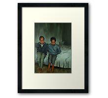 Together Alone Framed Print