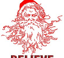 Believe in christmas and santa by nadil