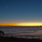 Moon and venus just before sunrise by Odille Esmonde-Morgan