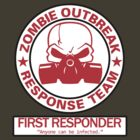 Zombie Outbreak Response Team - First Responder by spyderjava