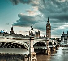 The Big Ben in London! Thames  by fine-art-prints