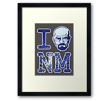 I Walt New Mexico Framed Print