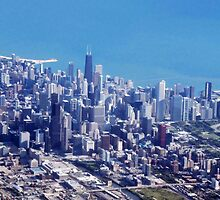 Chicago From The Air by Richard J. Bartlett