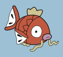 Pokedoll Art Magikarp by methuselah