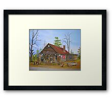 Old Sautee Store, Georgia Framed Print