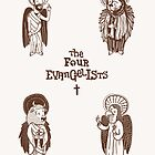 The Four Evangelists by creativepanic