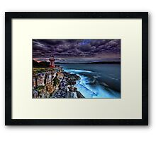 At the Edge Framed Print