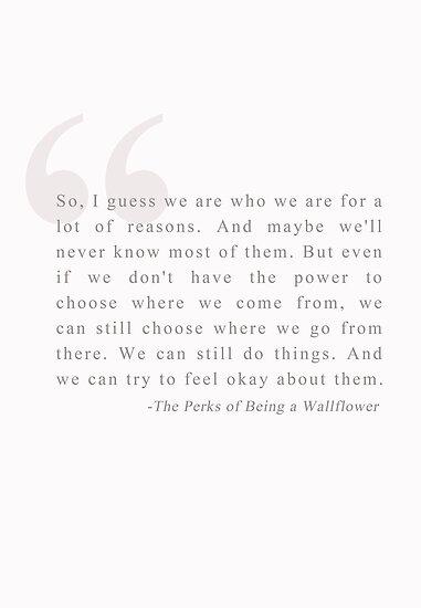 Be Okay. by wallflowers