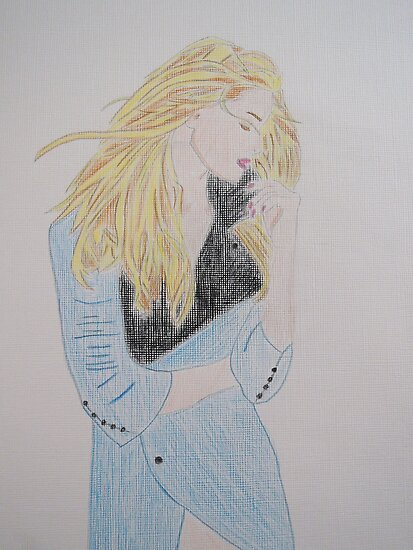 Loving Her Blue Coat by CreativeEm