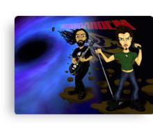 Black Hole Soundgarden Canvas Print