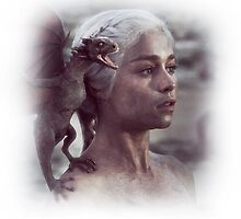 Daenerys Targaryen iPhone Case by Postduif