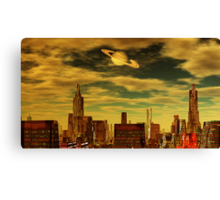 Gotham City - Ringworld Canvas Print