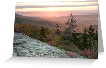 Blue Ridge Mountain Sunrise by Jane Best