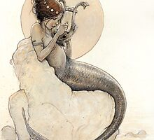 The Mermaid in the Moon by JBMonge