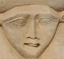 the face of Hathor by neil harrison