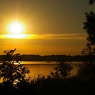 Onondaga Lake Sunset by Dan Phelps