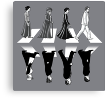 Downton Abbey Road Canvas Print