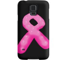 Pink Breast Cancer Awareness Candle Ribbon Samsung Galaxy Case/Skin