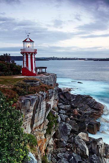 First Light ~ Hornby Lighthouse by Lorraine Creagh