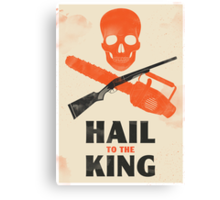 Hail to the King Canvas Print