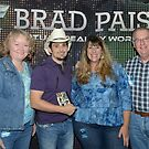 Brad Paisley Has One of My Gator Greeting Cards!!!! by Angela Lance