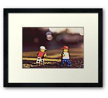 The Backstreets Framed Print