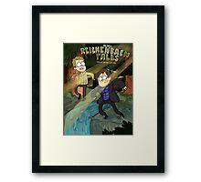 Reichenbach Falls Framed Print