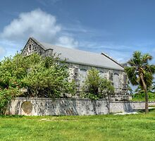 Abandoned Church on Paradise Island in The Bahamas by 242Digital