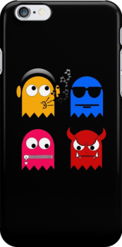 Pacman - All the Ghosts - New version  by Rastaman