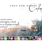 Lost for Words 2013 Calendar by Franchesca Cox