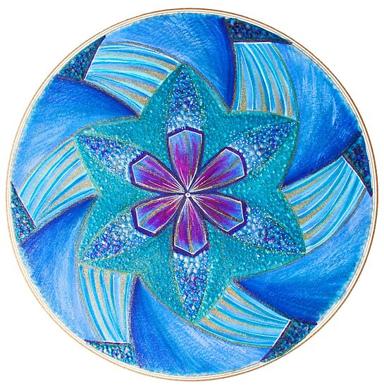 Mandala : Spin Your Creative Self by danita clark