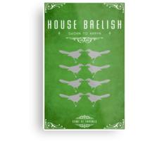House Baelish Metal Print