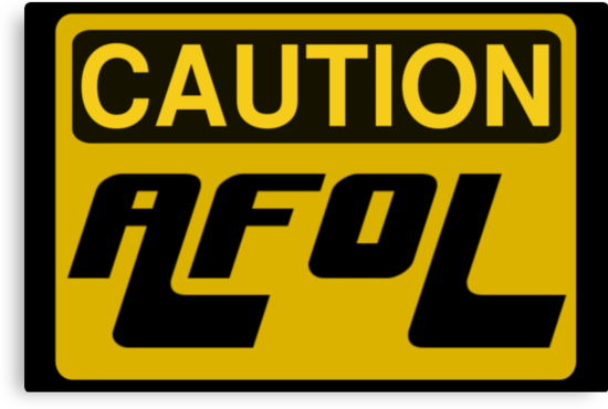 Caution AFOL Sign by Customize My Minifig by ChilleeW
