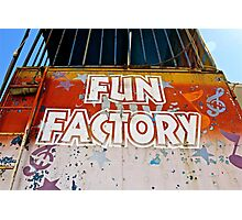 Fun Factory Photographic Print