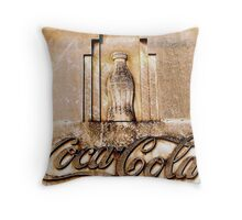 Coca-Cola Bottle Throw Pillow