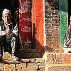 Bhaktapur Shopkeeps by V1mage