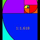 Fibonacci Spiral by artsandherbs