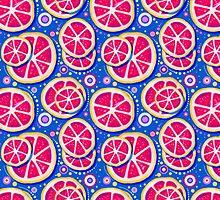 Grapefruit Slice Pattern by SaradaBoru