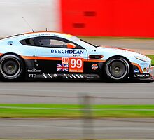 Aston Martin Racing No 99 by Willie Jackson