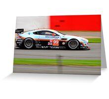 Aston Martin Racing No 99 Greeting Card
