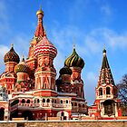St. Basil 's Cathedral, Red Square, Moscow by fine-art-prints