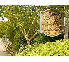 The Tranquil House Inn Photographic Print