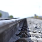 Train Rail by Anthony Guzman