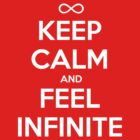 perks of being a wallflower shirt keep calm and feel infinite by Elisha Watts